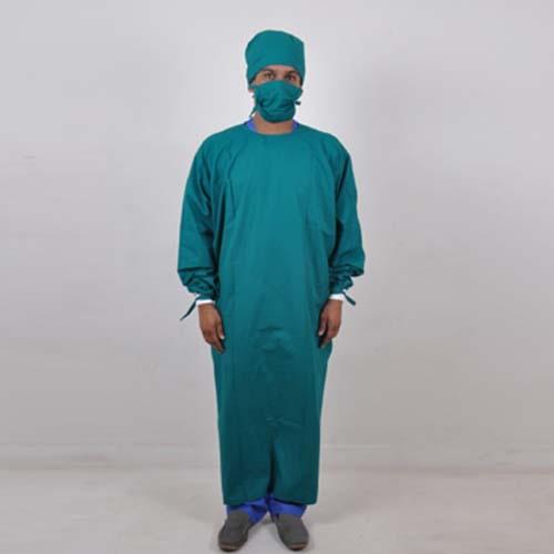 Surgeon Apron full hand green copy
